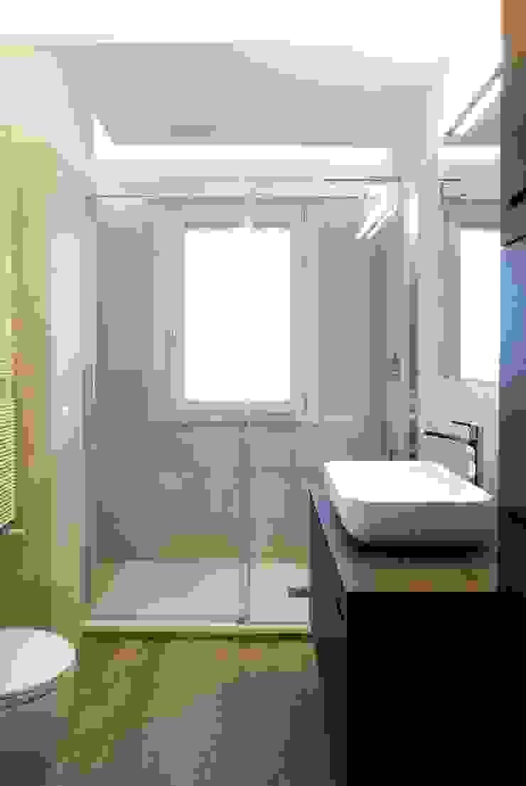 PROGETTO RESIDENZIALE   ROMA   EUR TORRINO – 2014 Case in stile minimalista di ar architetto roma Minimalista