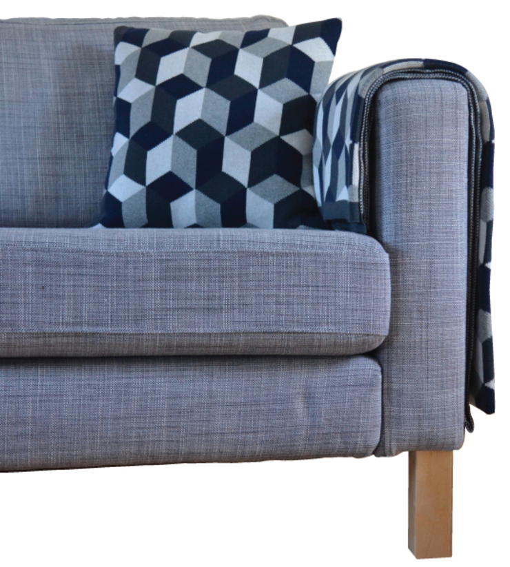 Rok Cushion and Throw by Sophie home