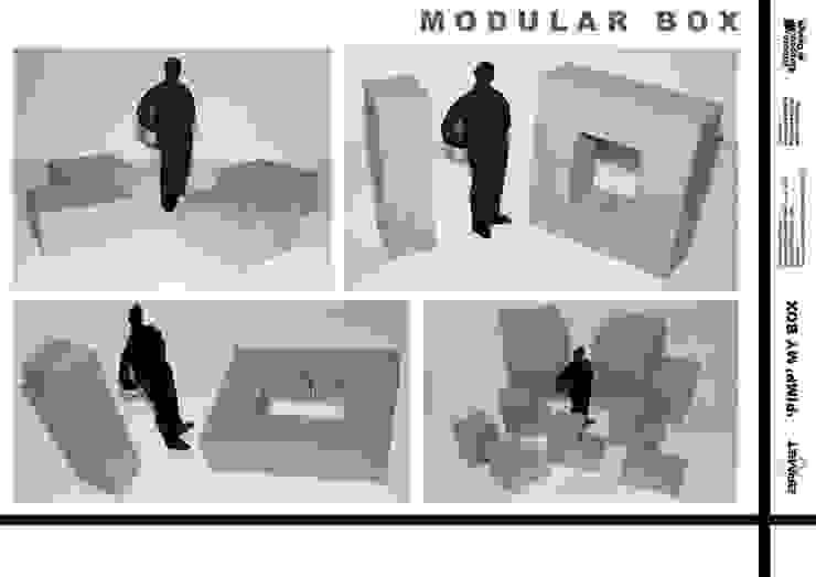 """PimpmyBox"" per Armet:  in stile industriale di marcocapetodesign, Industrial"