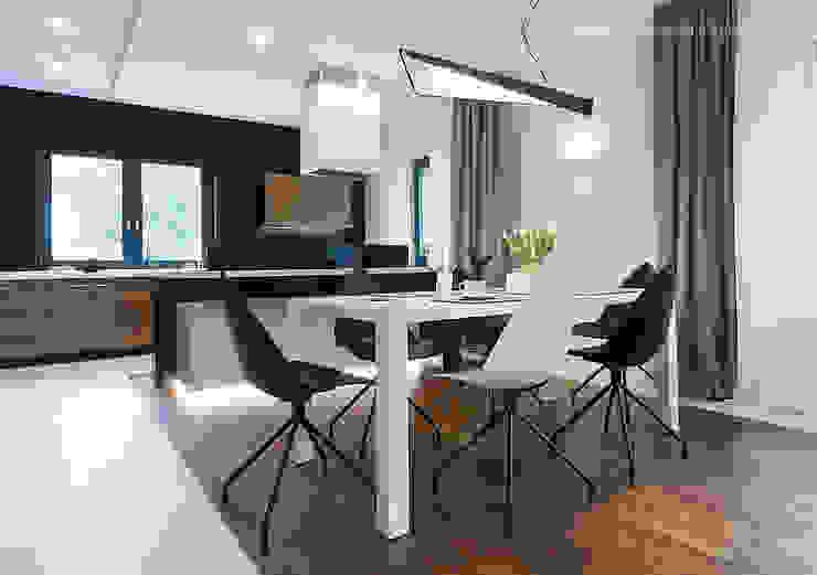 głodni STYLU pracownia projektowa Modern Dining Room