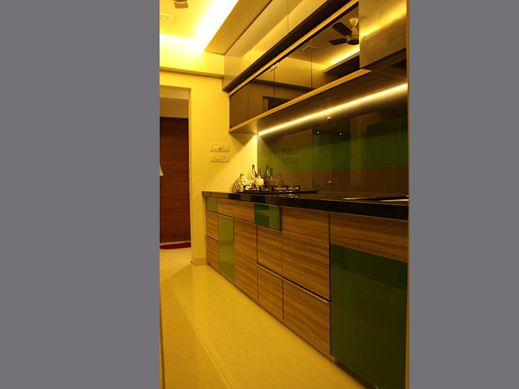 Colourful Abode in Kandivali Rooms by S K Designs
