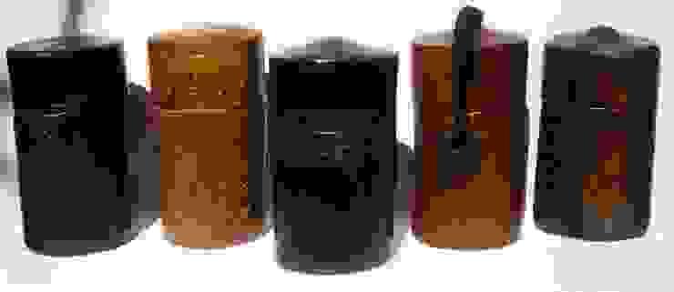 série boîtes à thé 15 cm x 7cm par nadine lebas TERRA SIG Éclectique