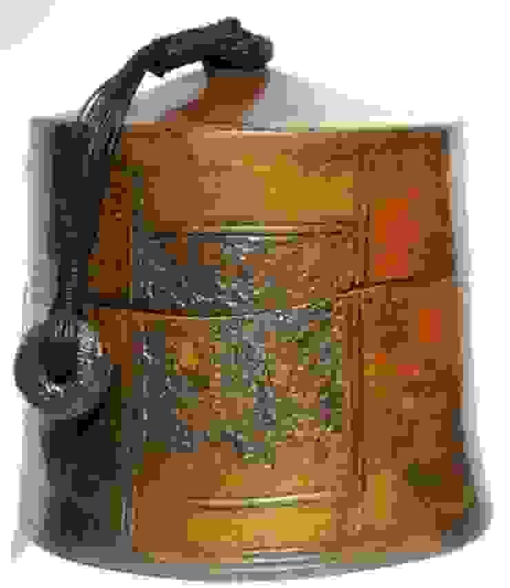 boîte thé ceramique sigillée 23cm x 21cm par nadine lebas TERRA SIG Éclectique