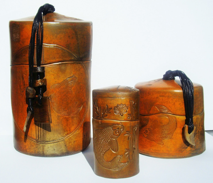 boîtes céramique sigillées par nadine lebas TERRA SIG Éclectique