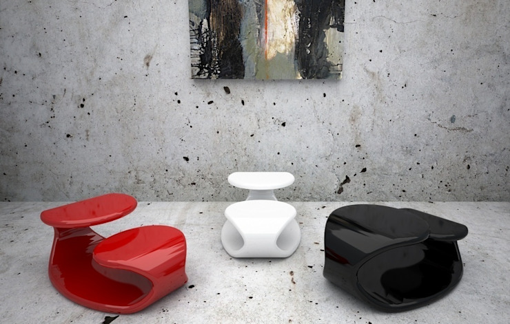 BAIZO' Paolo D'Ippolito - idee e design Living roomSide tables & trays