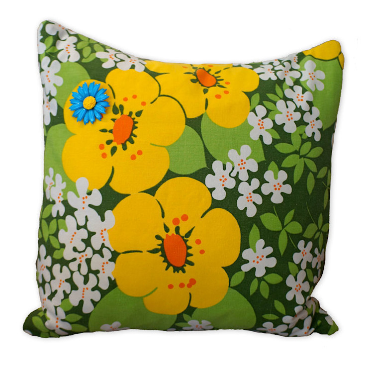 Original Vintage Cushions Slouch Designs Living roomAccessories & decoration