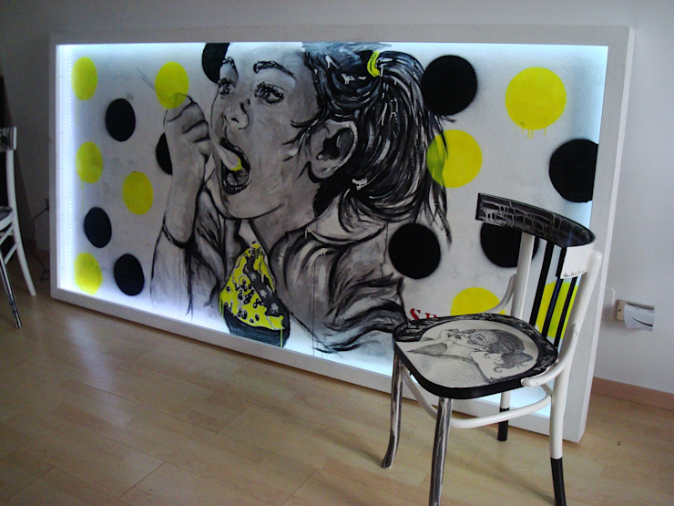 Sedie decorate e non solo.. di Laboratorio SD Eclettico