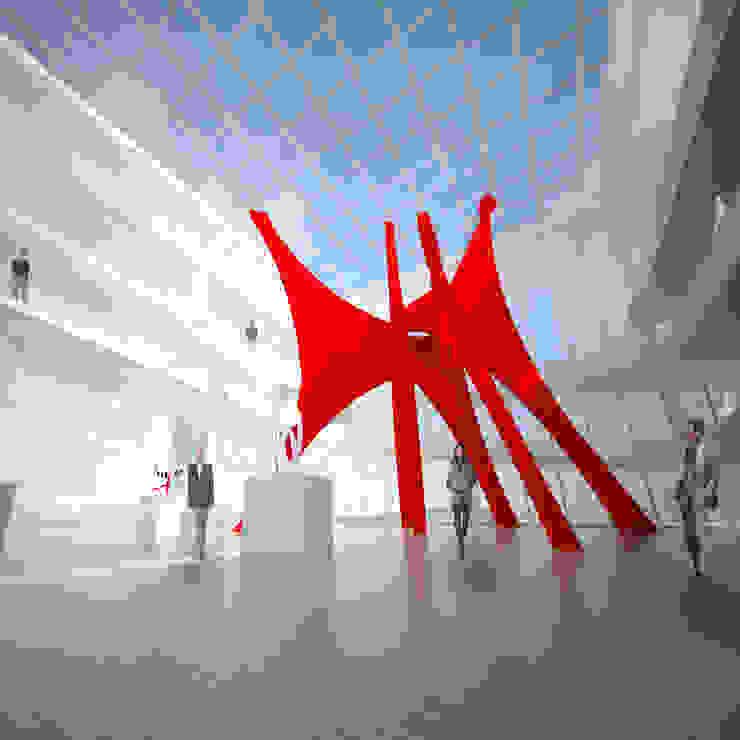 Galeria Principal por Paula Werneck Arquitetura Moderno