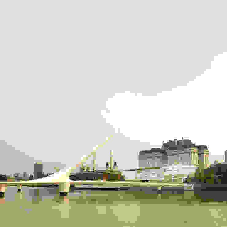 Vista do Rio La Plata por Paula Werneck Arquitetura Moderno