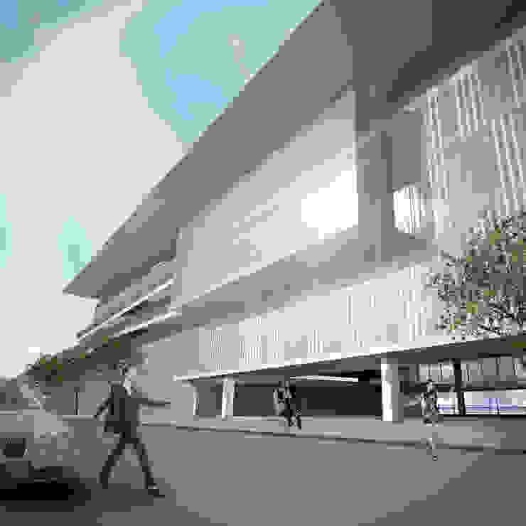 Acesso secundário por Paula Werneck Arquitetura Moderno