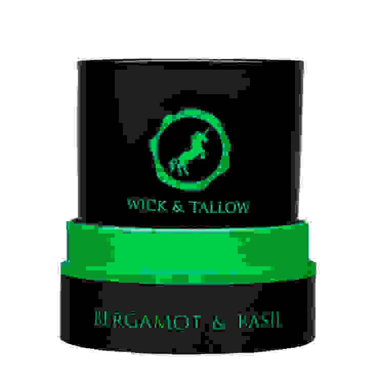 Wick & Tallow Bergamot & Basil Candle: modern  by Wick & Tallow, Modern