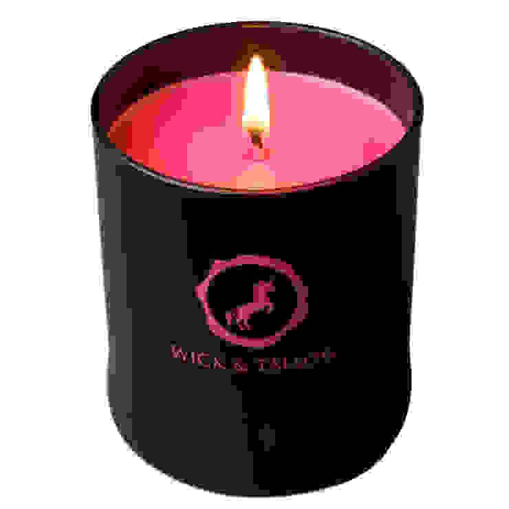 Wick & Tallow Sandalwood & Rose Candle: modern  by Wick & Tallow, Modern