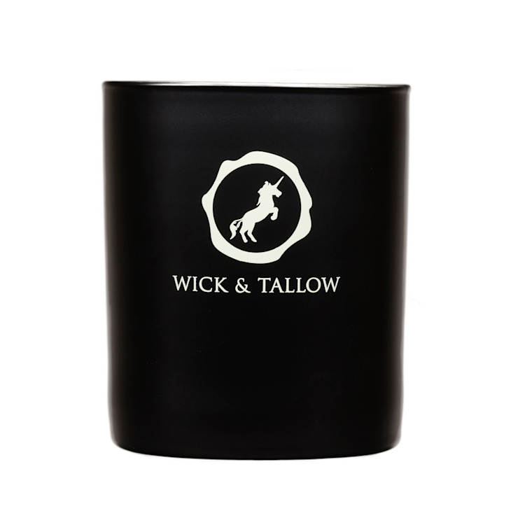 Wick & Tallow White Fig & Vanilla Candle: modern  by Wick & Tallow, Modern
