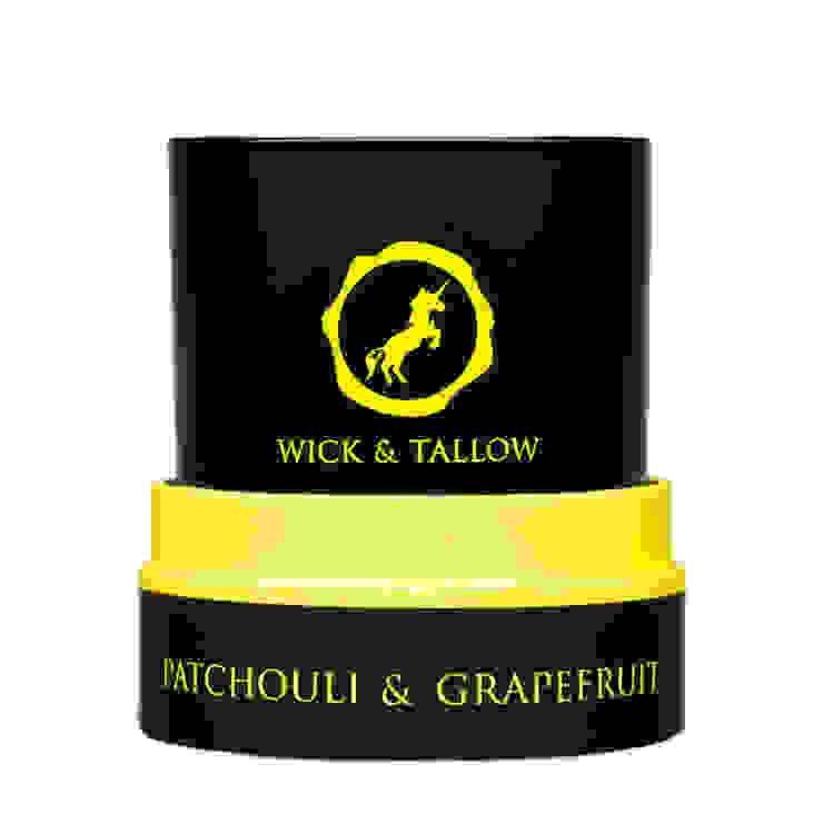 Wick & Tallow Patchouli & Grapefruit Candle: modern  by Wick & Tallow, Modern