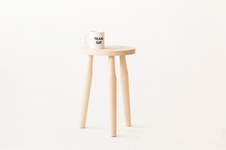 Affonso Stool by Liam Treanor