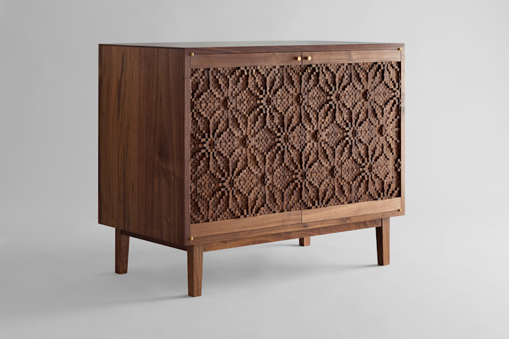 Asa No Ha Sideboard by Laszlo Beckett