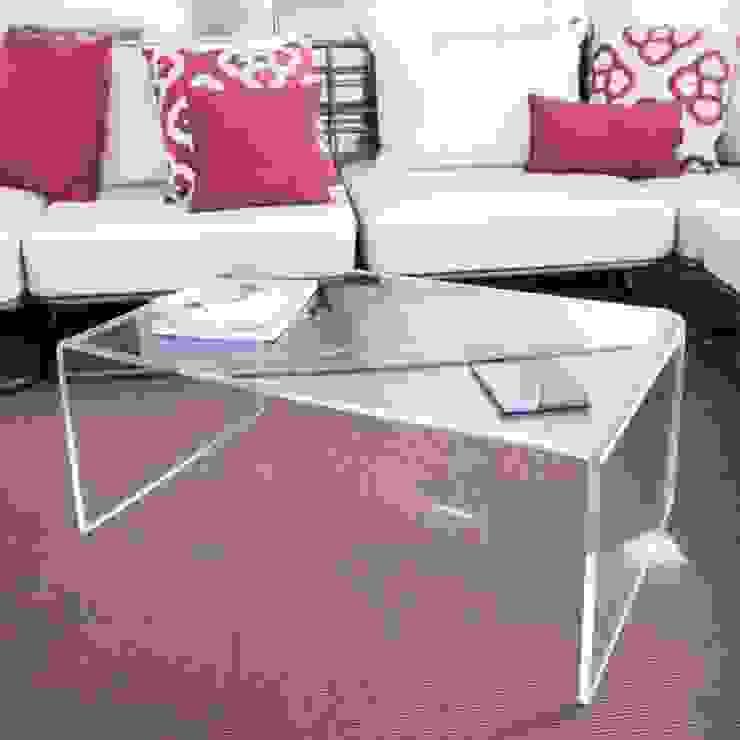 Tavolini moderni in plexiglass di Designtrasparente Moderno