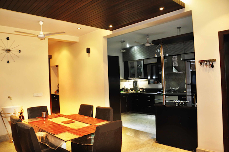 New Alipore, Residency Modern houses by Dimensions Modern