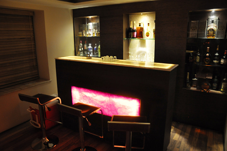 Home Bar Modern houses by Dimensions Modern