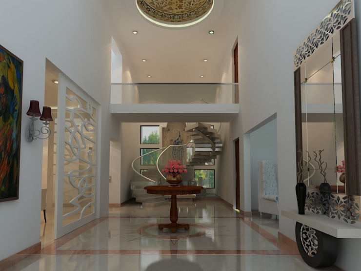 Residence At Malibou Gurgoan: modern  by SS Design Group,Modern