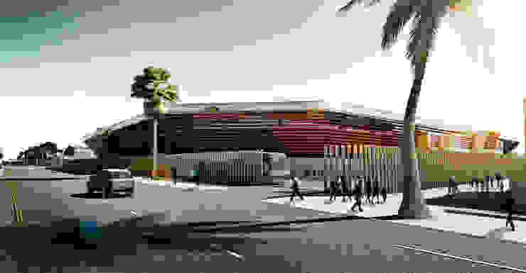 Complejo deportivo el Club universitario de Al Talaba en Baghdad. 15K de Javier Garcia Alda arquitecto