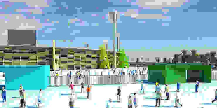 Rehabilitación del Estadio del 11 de Junio en Tripoli. 45K de Javier Garcia Alda arquitecto