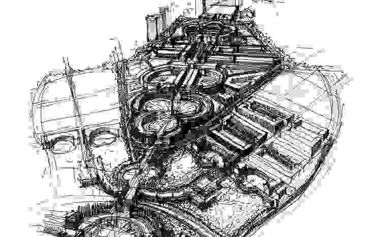 Antigone de Ricardo Bofill Taller de Arquitectura