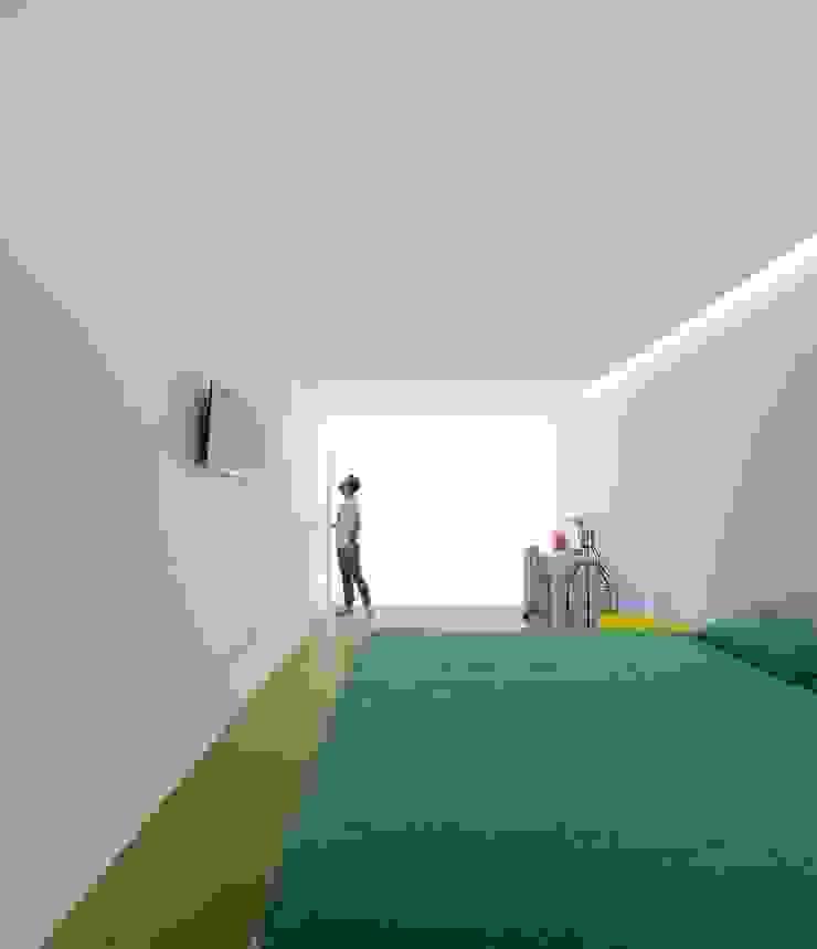 Casa Sambade Quartos modernos por spaceworkers® Moderno