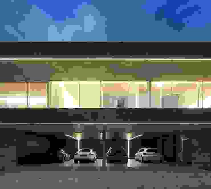 Sambade House Garage / Hangar modernes par spaceworkers® Moderne