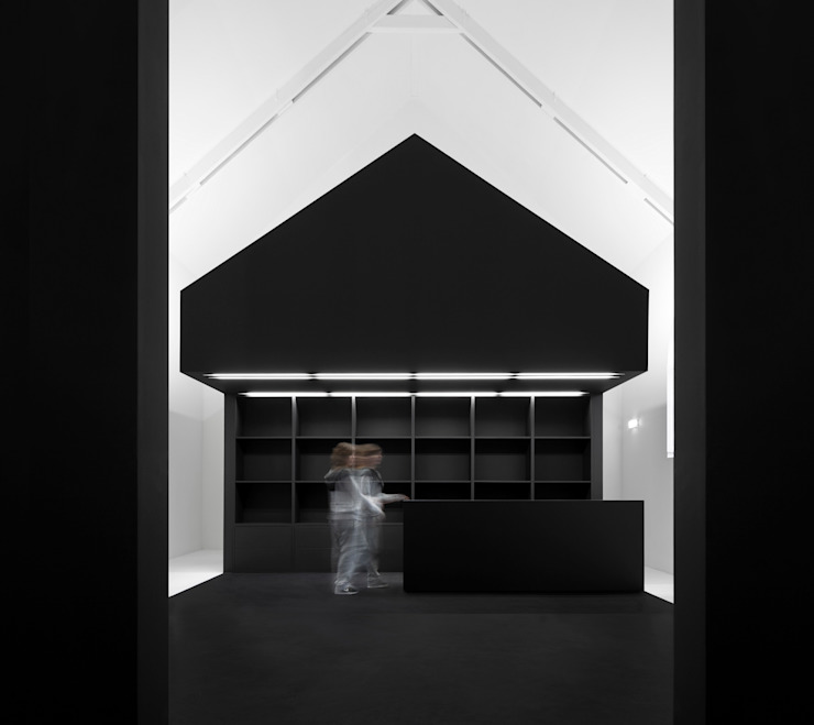Information Center of the Romanesque by spaceworkers® Modern