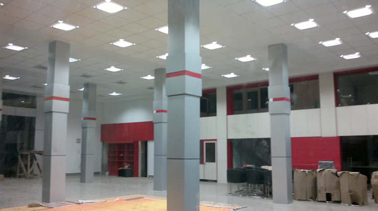 dumka showroom & workshop  project: modern  by ARCHI SPACE CONSULTANT,Modern