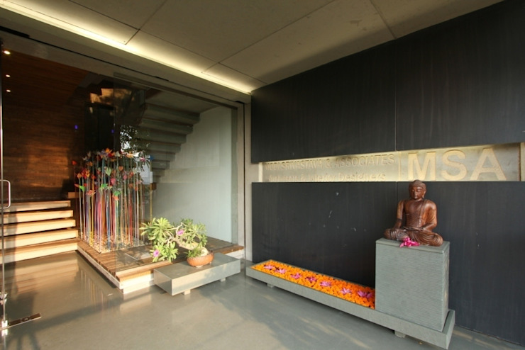 MSA HOUSE: modern  by MODI SRIVASTAVA AND ASSOCIATES,Modern