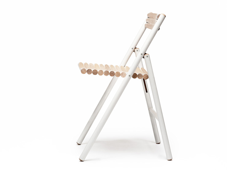 STEEL chair: modern  door Reinier de Jong Design, Modern
