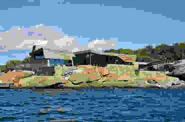 Rock House de Jarmund/Vigsnæs AS Arkitekter MNAL Moderno