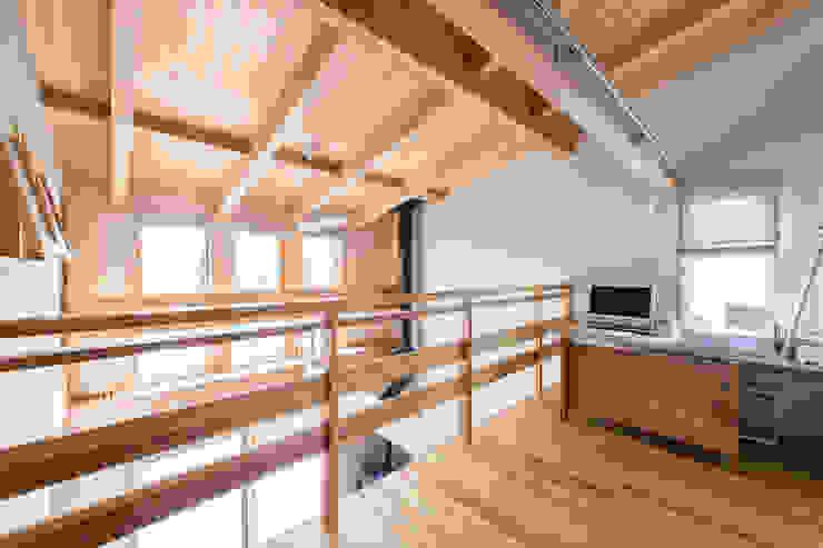 Sola sekkei koubou의  서재 & 사무실