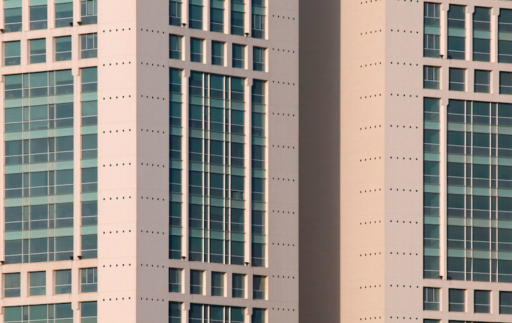 Casablanca Twin Center de Ricardo Bofill Taller de Arquitectura