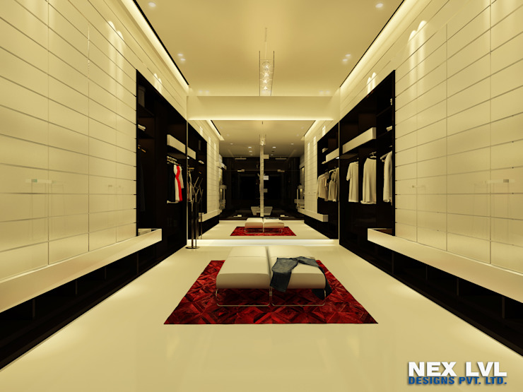 AMBIKAPUR Rooms by NEX LVL DESIGNS PVT. LTD.