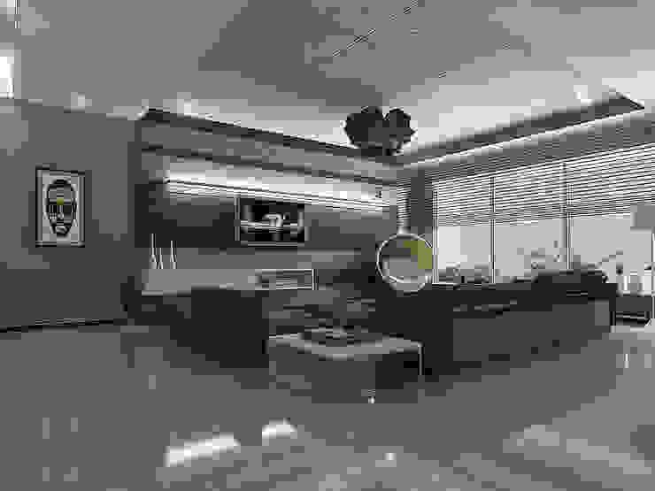 Apartment Interiors , Hiranandani Towers Modern houses by Play Design Studio Modern