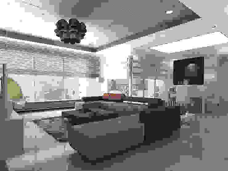 Living room Modern houses by Play Design Studio Modern