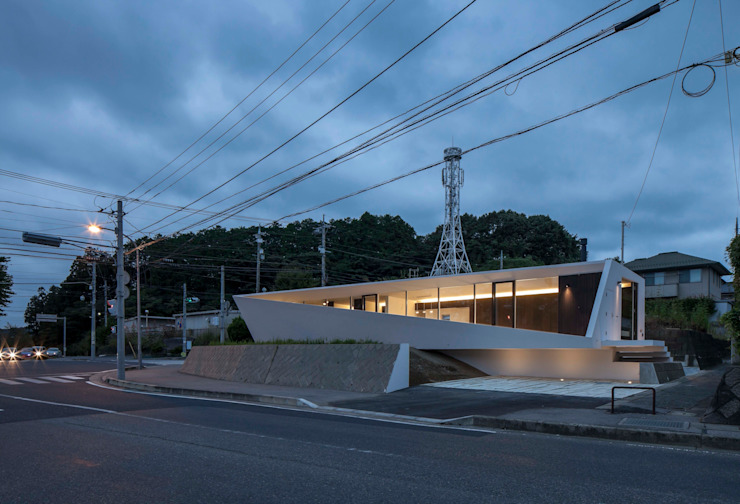 crossing point Maisons modernes par 後藤武建築設計事務所 Moderne