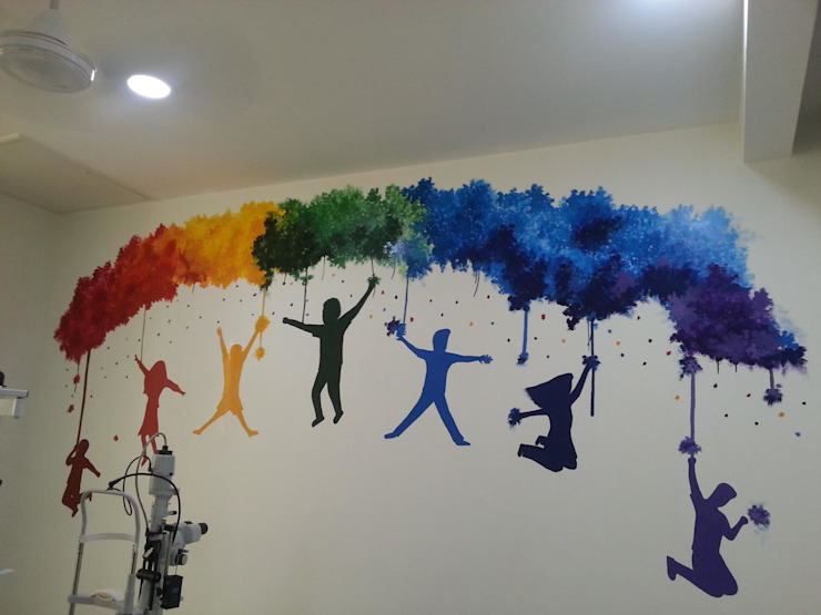 wall mural:   by extol arts