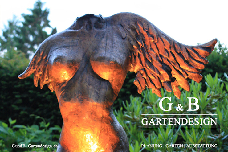 Skulpturengarten Schleswig-Holstein von GEMPP GARTENDESIGN - Gartenplanung Gartengestaltung Landschaftsbau
