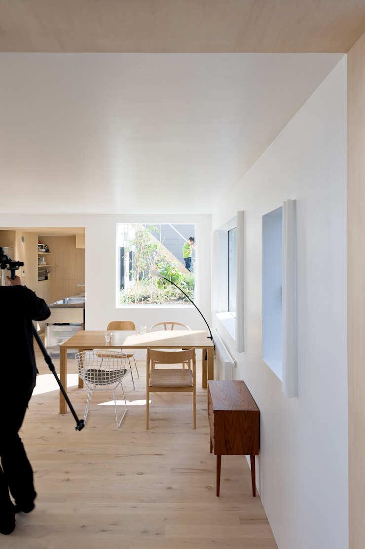 hiroshi kuno + associates Salle à manger minimaliste