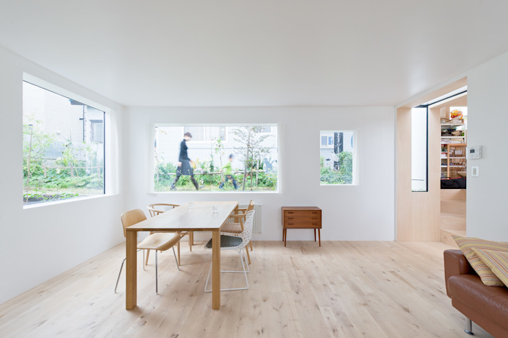 KUMAGAI HOUSE: hiroshi kuno + associatesが手掛けたダイニングです。,ミニマル