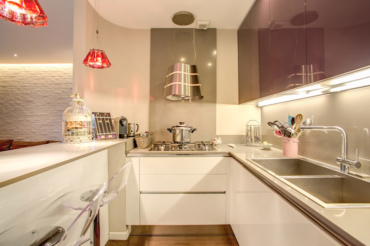 Kitchen by MOB ARCHITECTS, Modern