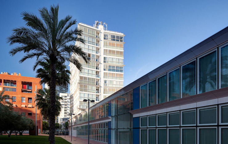 Olympic Village Housing Complex de Ricardo Bofill Taller de Arquitectura