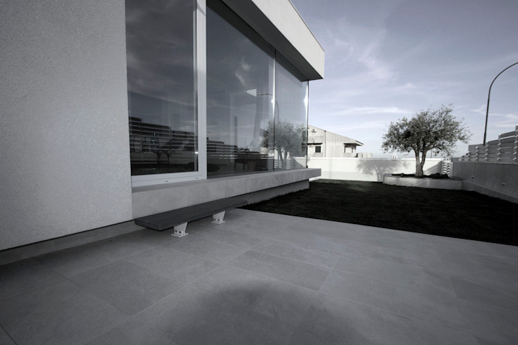 Giardino d'inverno RP Giardino d'inverno moderno di Laboratorio di Progettazione Claudio Criscione Design Moderno