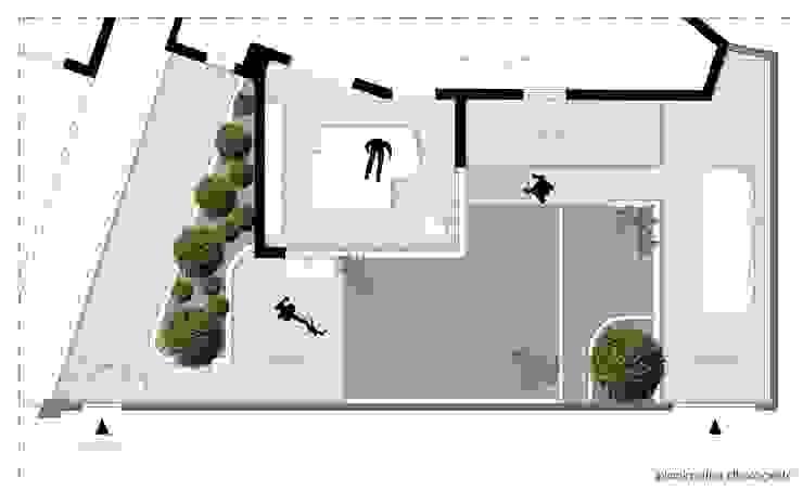 Giardino d'inverno RP di Laboratorio di Progettazione Claudio Criscione Design Moderno