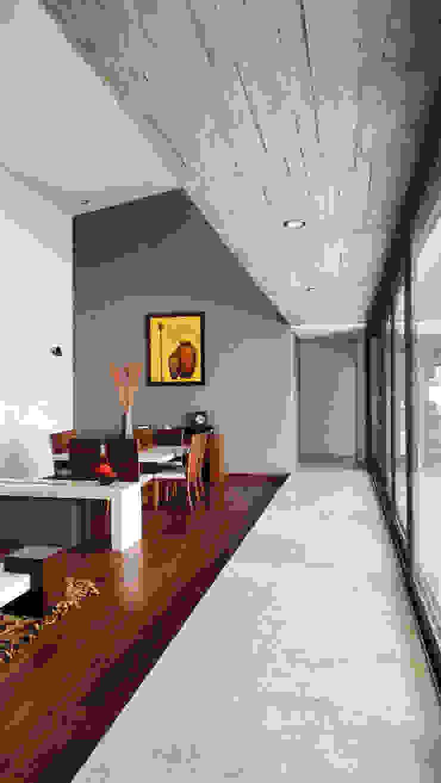 Modern Living Room by ze|arquitectura Modern