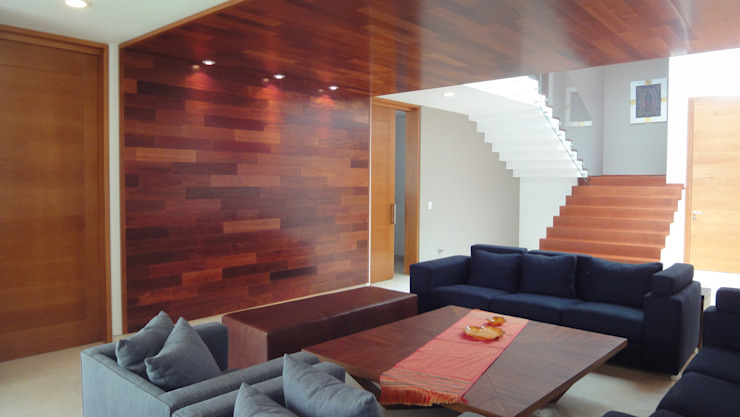 Living room by ze|arquitectura,
